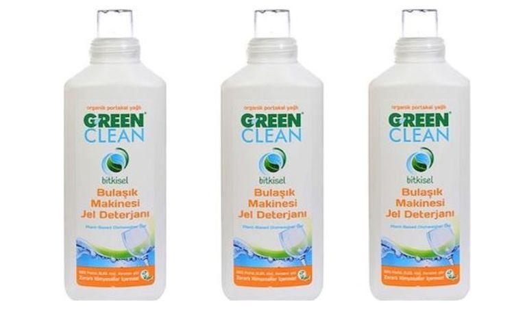 U Green Clean - U Green Clean Organik Bitkisel 1000 ml 3'lü Paket Bulaşık Jel Deterjanı