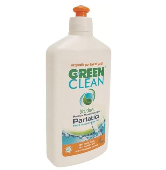 U Green Clean Organik Portakal Yağlı Bitkisel 500 ml Bulaşık Makinesi Parlatıcısı