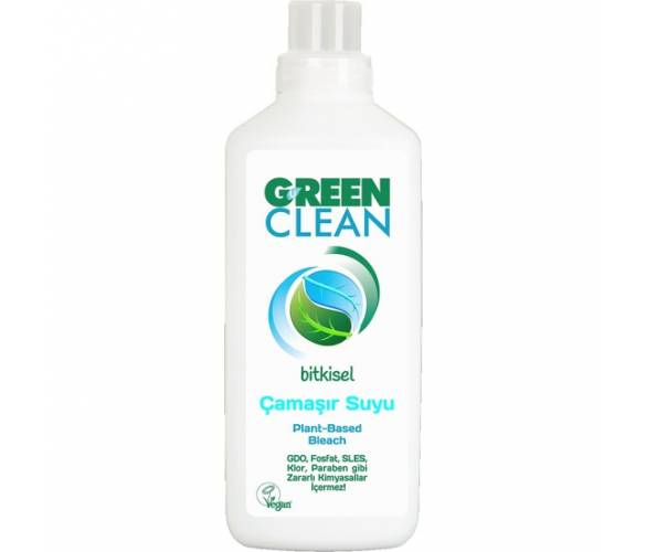 U Green Clean - U Green Clean Bitkisel Çamaşır Suyu 1000 Ml