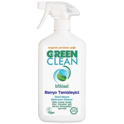 U Green Clean - U Green Clean Organik Portakal Yağlı Bitkisel 500 ml Banyo Temizleyicisi