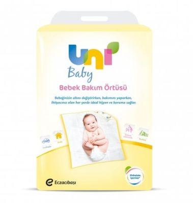 Uni Baby - Uni Baby Bebek Bakım Örtüsü - 10lu
