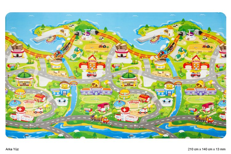 Unigo - Unigo Comflor Fruit Farm Oyun Matı