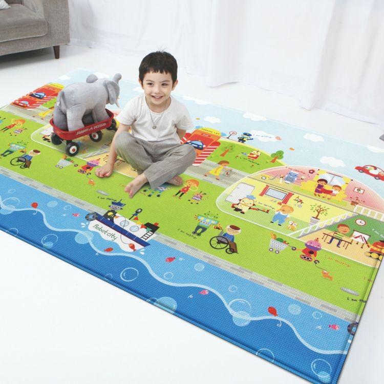 Unigo - Unigo Comflor Robot City Oyun Matı