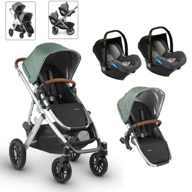 Uppababy - Uppababy 2019 Vista Twin Set Bebek Arabası Emmett