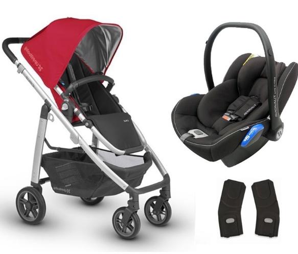 Uppababy - Uppababy Cruz Travel Sistem Bebek Arabası Denny