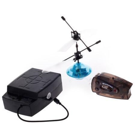 Diğer - Uçan Işıklı Mini Drone Uçan Top Daire Helikopter