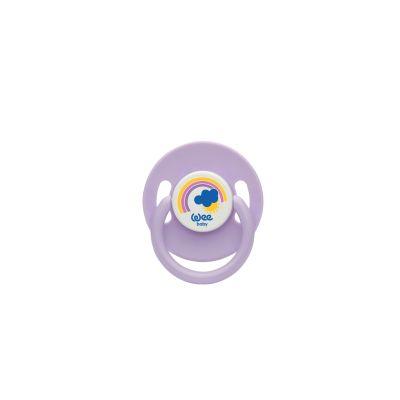 WeeBaby - Wee Baby 855 Yuvarlak Uçlu Emzik No1 - Mor