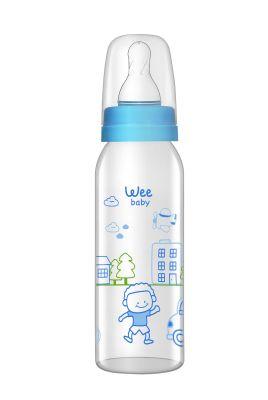 WeeBaby - Wee Baby 876 Cam Biberon 250ml - Mavi
