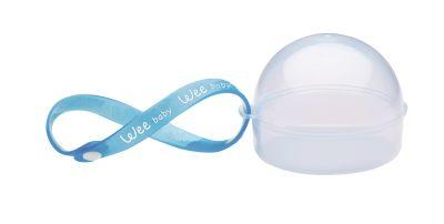 WeeBaby - Wee Baby Emzik Saklama Kabı - Mavi