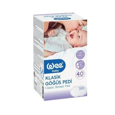 WeeBaby - Wee Baby Klasik Göğüs Pedi 40lı
