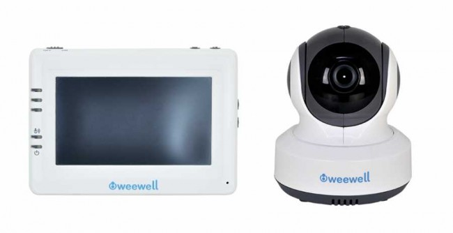 Weewell WMV870 Sphera Dual Watch Dijital Bebek İzleme Cihazı - Thumbnail