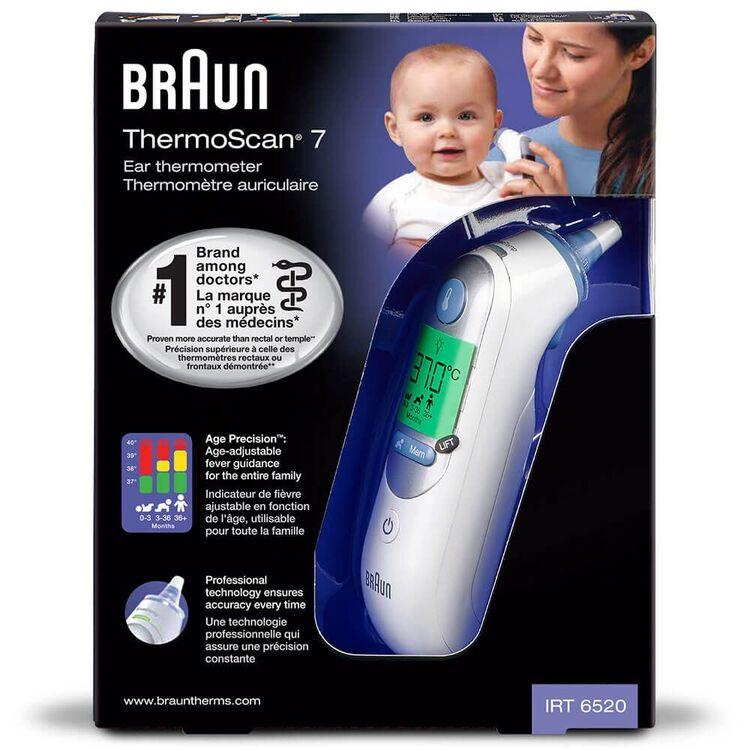 BRAUN - Braun Thermoscan Irt 6520 Ateş Ölçer - Beyaz