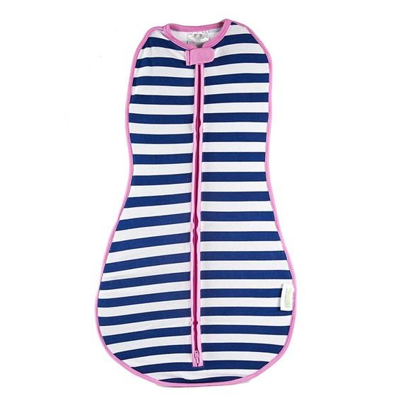 Woombie - Woombie Original Kundak Navy Stripe Girl