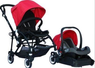 Yoyko - Yoyko Easyo Travel Sistem Bebek Arabası Kırmızı