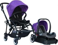 Yoyko - Yoyko Easyo Travel Sistem Çift Bebek Arabası Mor